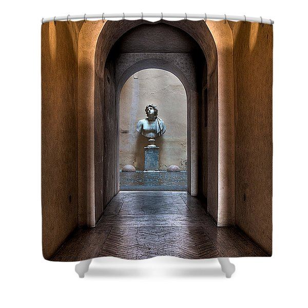 Roman Entry Shower Curtain