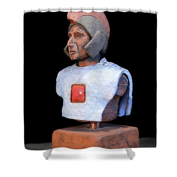 Roman Legionaire - Warrior - Ancient Rome - Roemer - Romeinen - Antichi Romani - Romains - Romarere  Shower Curtain