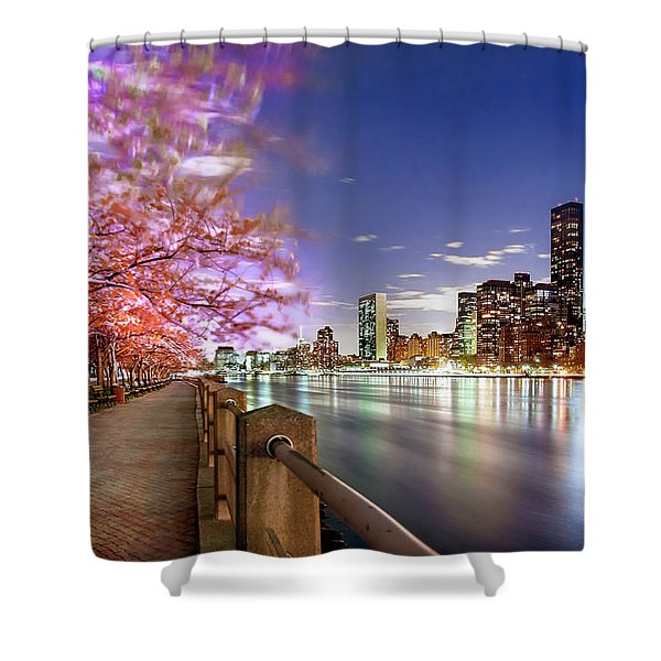Romantic Blooms Shower Curtain
