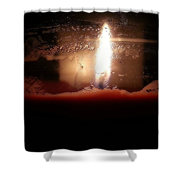 Romantic Candle Shower Curtain