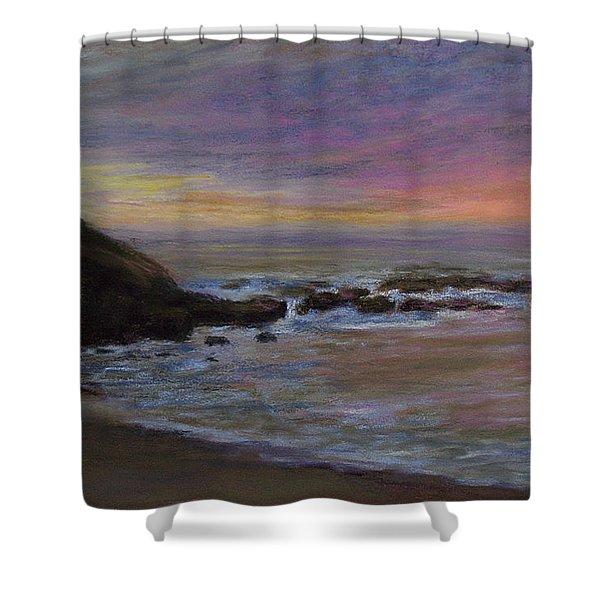 Romantic Shore Shower Curtain