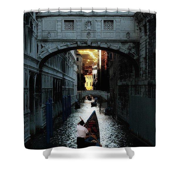 Romantic Venice Shower Curtain