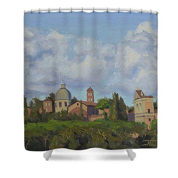 Rome Afternoon Shower Curtain