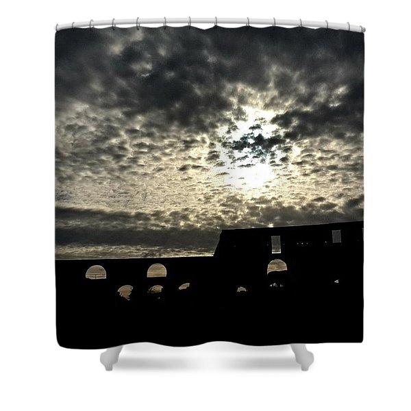 Rome Italy - Colloseum Shower Curtain