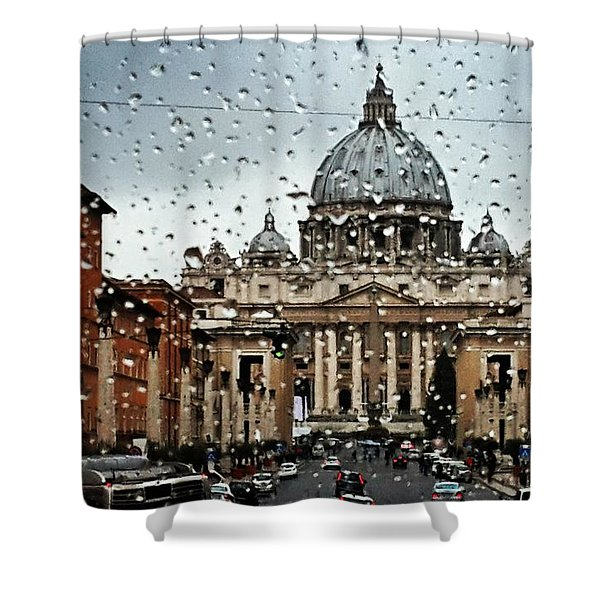 Rome Italy Shower Curtain