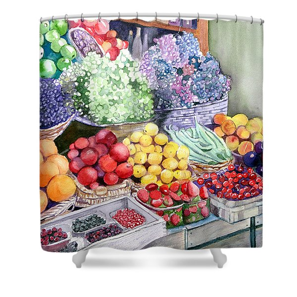 Rome Market Shower Curtain