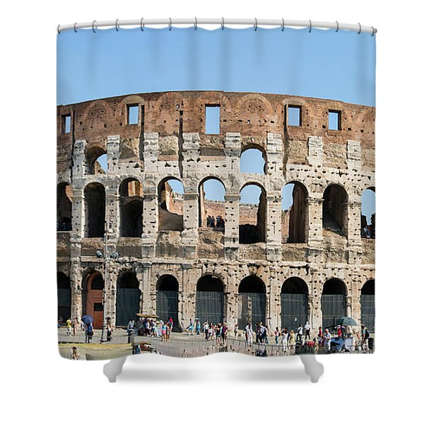 Rome's Colosseum Shower Curtain