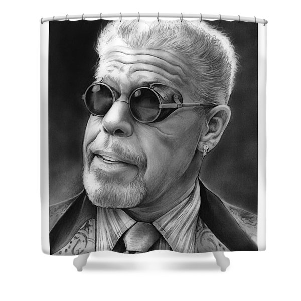 Ron Perlman Shower Curtain
