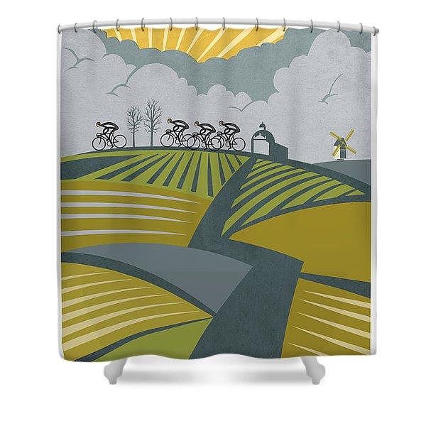 Ronder Van Vlaanderen Shower Curtain