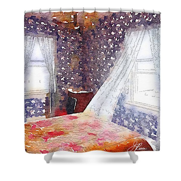 Room 803 Shower Curtain