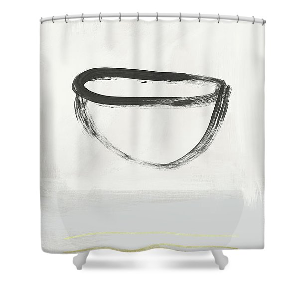 Room To Receive 2- Art By Linda Woods Shower Curtain