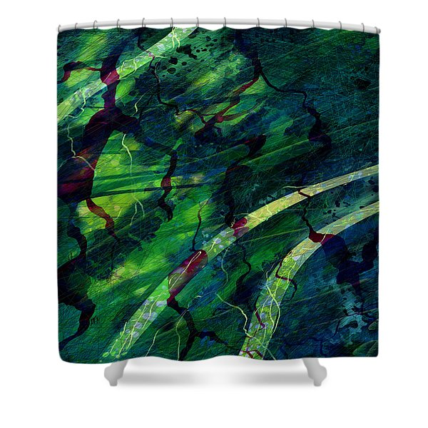 Root Canal Shower Curtain