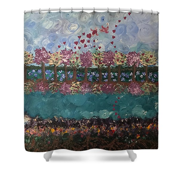 Roots And Wings Shower Curtain