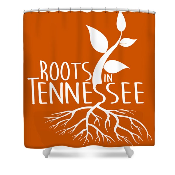 Roots In Tennessee Seedlin Shower Curtain