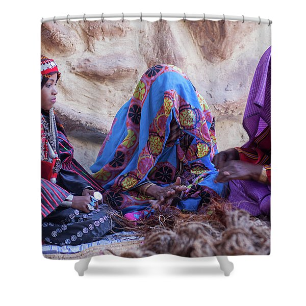 Rope Makers Shower Curtain