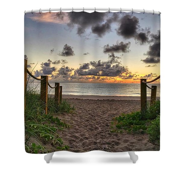 Rope Walk Shower Curtain