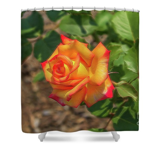Rosa Peace Shower Curtain