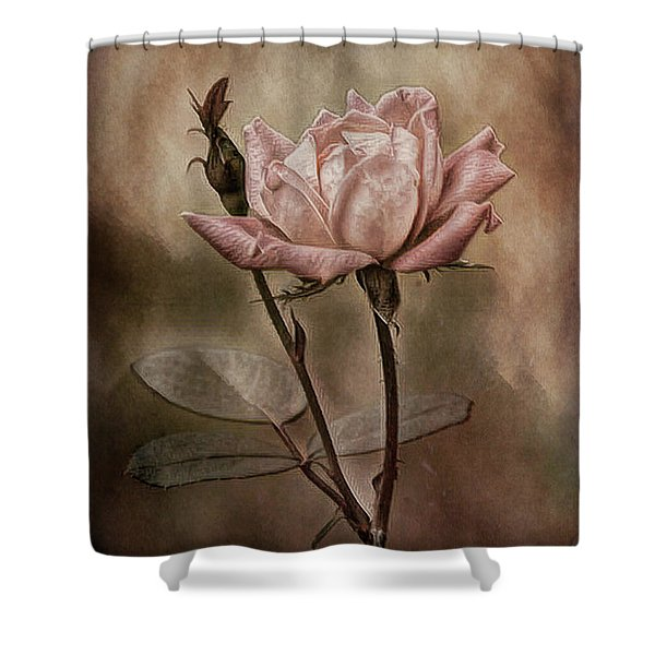 Rose 3 Shower Curtain