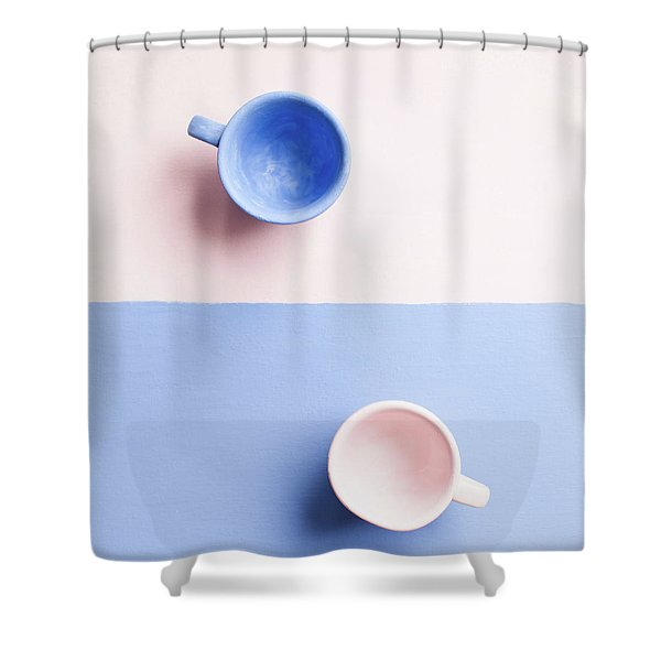 Rose And Serenity IIi Shower Curtain