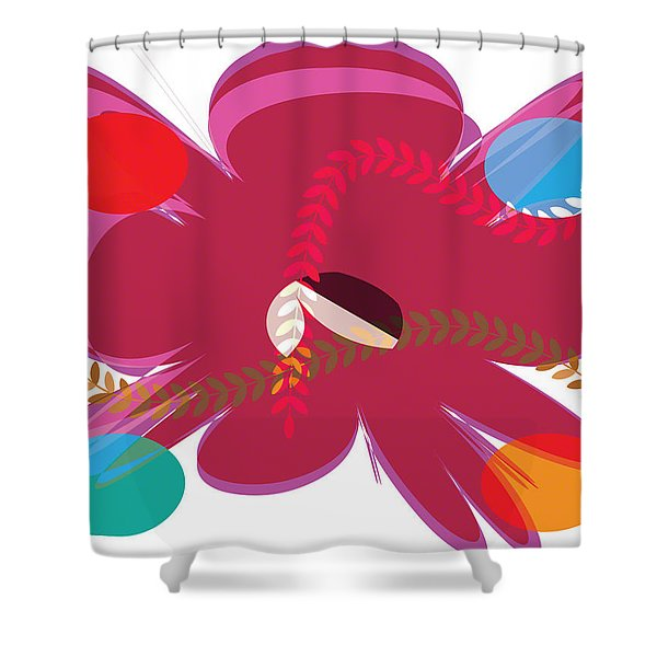 Rose Bud Shower Curtain