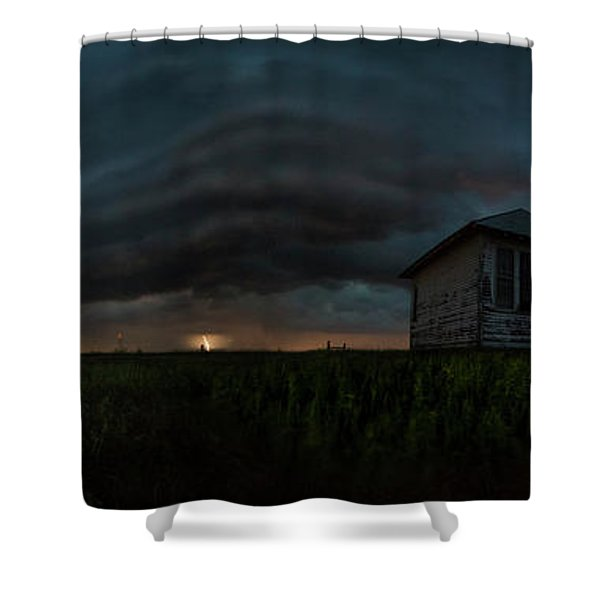 Rose Hill Storm  Shower Curtain