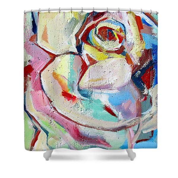 Rose Number 1 Shower Curtain
