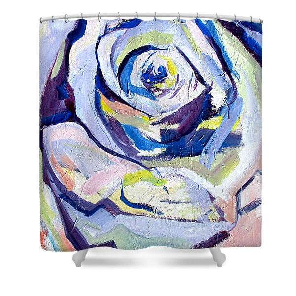 Rose Number 2 Shower Curtain