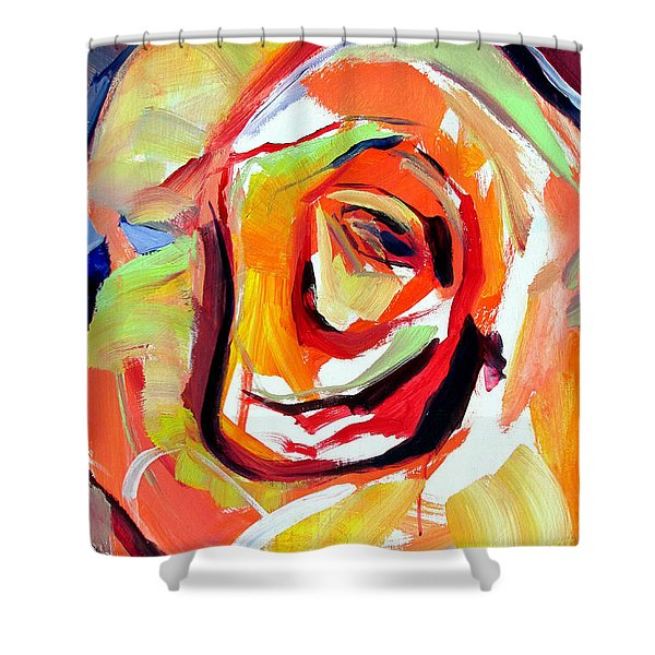 Rose Number 6 Shower Curtain