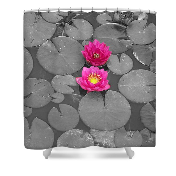 Rose Of The Water Shower Curtain