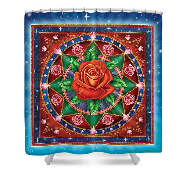 Rose - Pure Love Shower Curtain