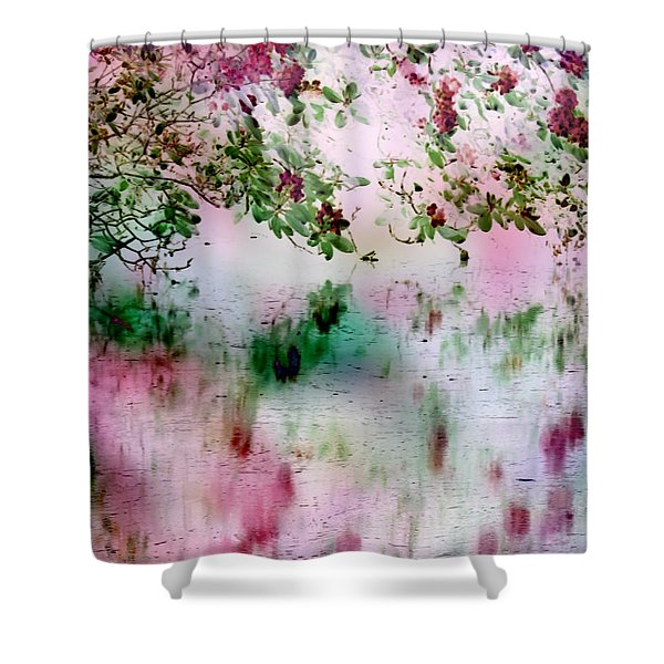 Rose Reflections Shower Curtain