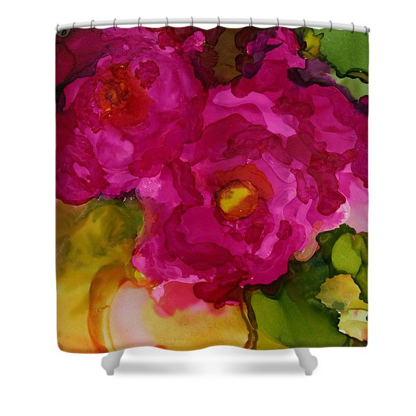 Rose To The Occation Shower Curtain