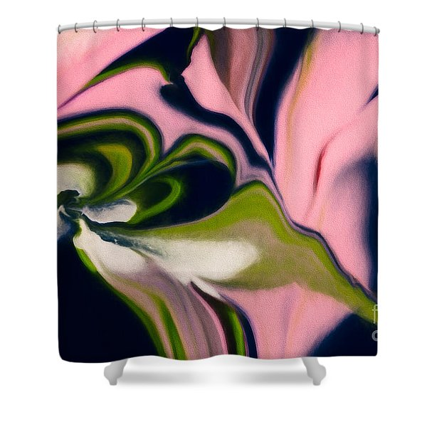 Rose With No Thorns Shower Curtain