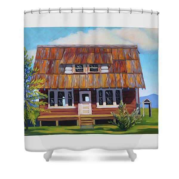 Roseberry House Shower Curtain