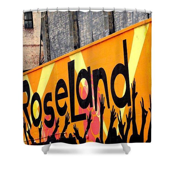 Roseland Ballroom In Nyc Shower Curtain