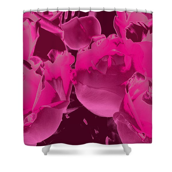 Roses #5 Shower Curtain