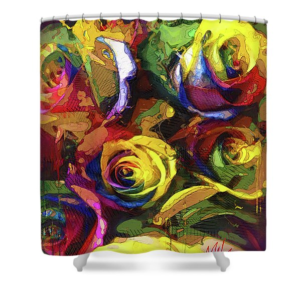 Roses Dream Shower Curtain