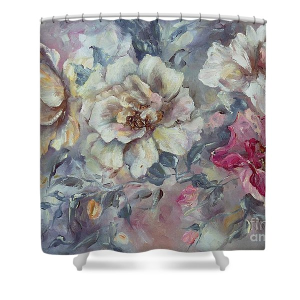 Roses From A Friend Shower Curtain