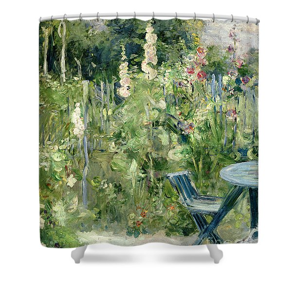Roses Tremieres Shower Curtain