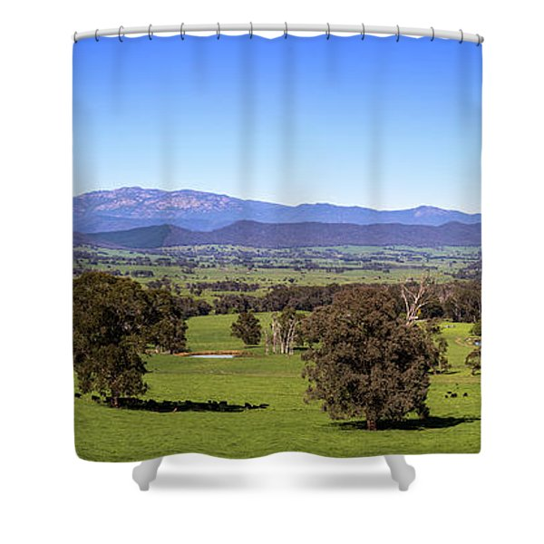 Rosewhite Spring Shower Curtain