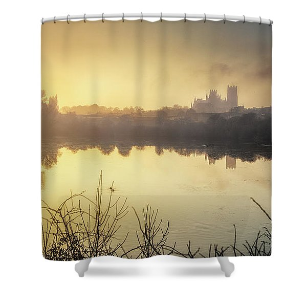 Roswell View Shower Curtain