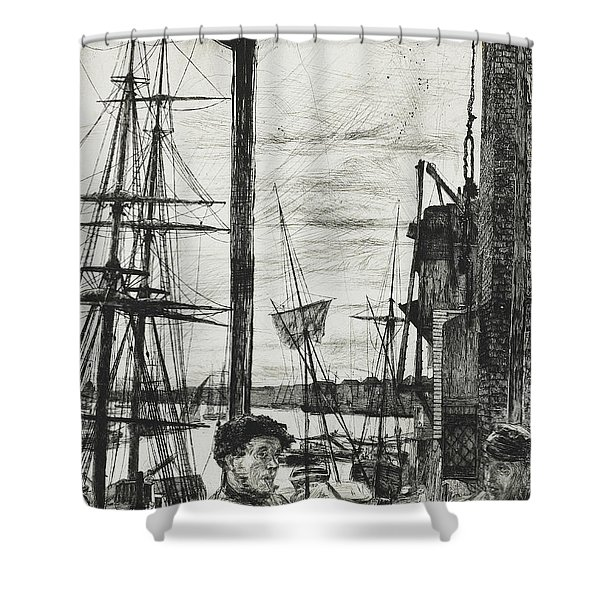 Rotherhithe Shower Curtain