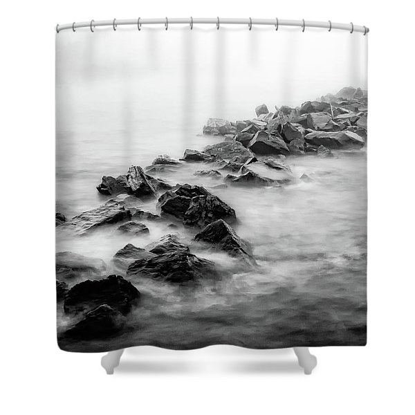 Rough Superior Shower Curtain