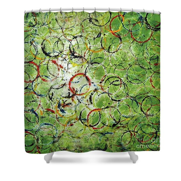 Round About 2 Shower Curtain