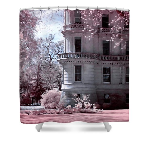Rounded Corner Tower Shower Curtain