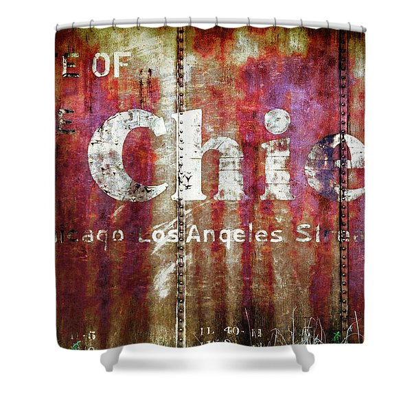Route Of The Chief Shower Curtain