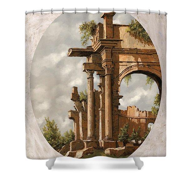 Rovine Romane Shower Curtain