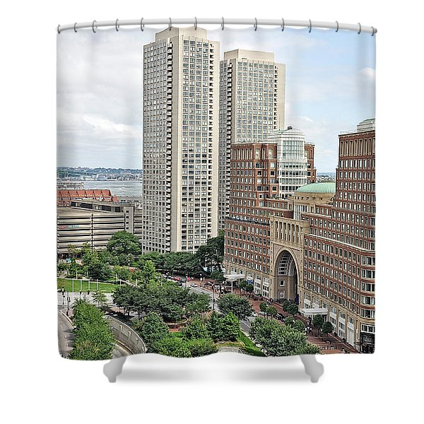 Rowes Wharf Shower Curtain