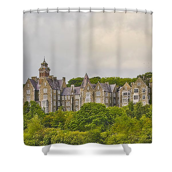 Rows Shower Curtain