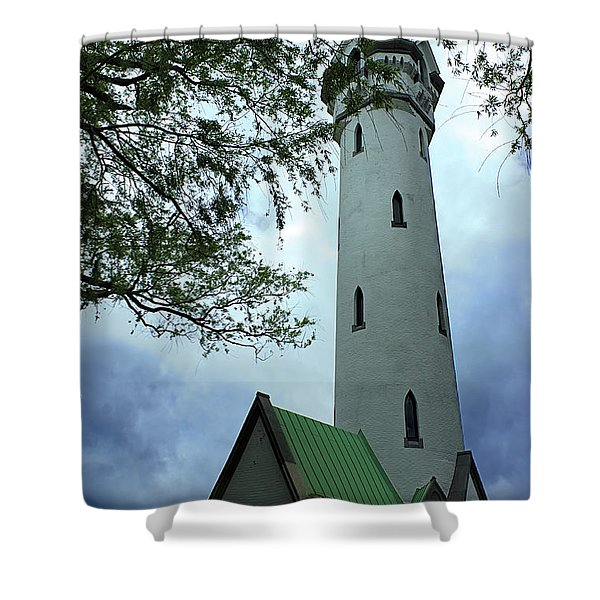 Roxbury High Fort Shower Curtain